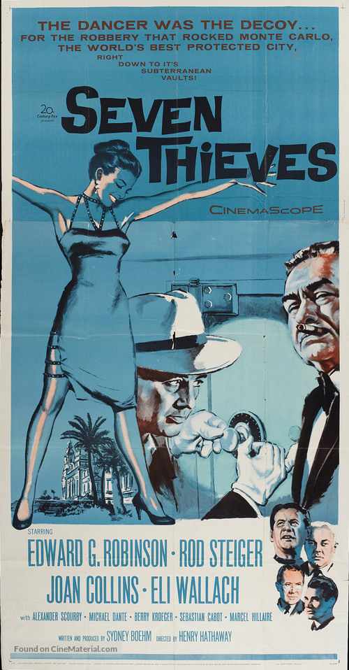 Seven Thieves - Movie Poster