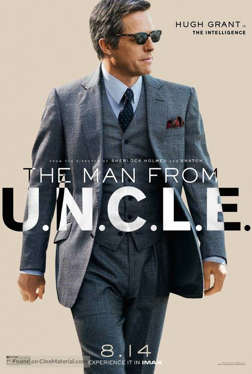 The Man from U.N.C.L.E. - Character movie poster