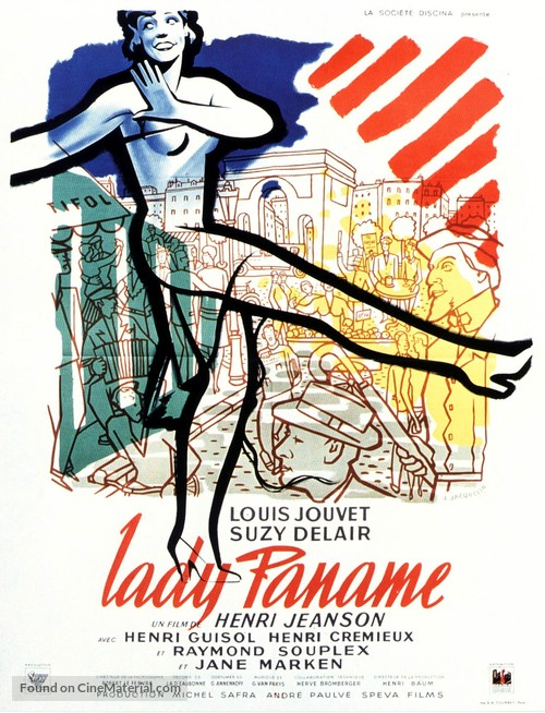 Lady Paname - French Movie Poster