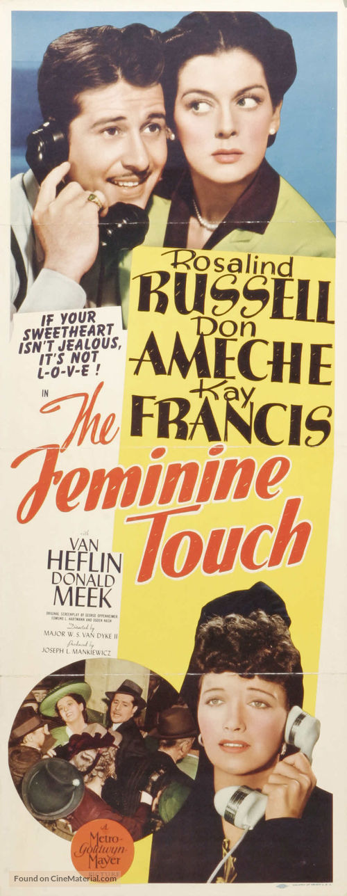 The Feminine Touch - Movie Poster