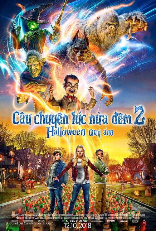 Goosebumps 2: Haunted Halloween - Vietnamese Movie Poster