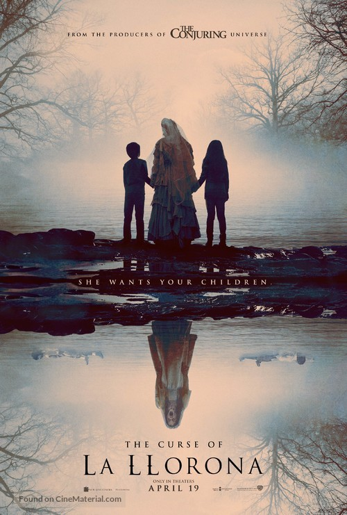 The Curse of La Llorona - Movie Poster