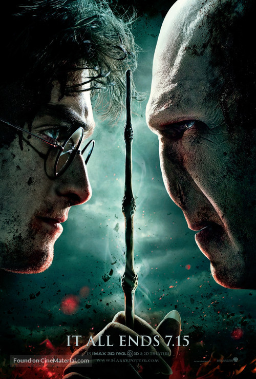 Harry Potter and the Deathly Hallows: Part II - Movie Poster