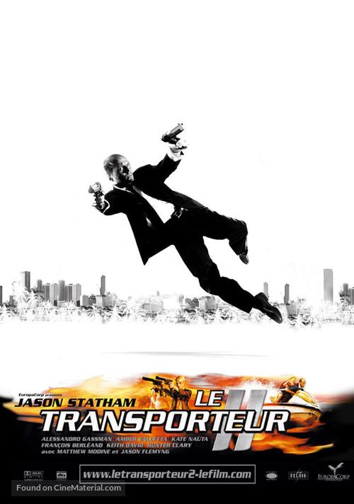 Transporter 2 - French Movie Poster