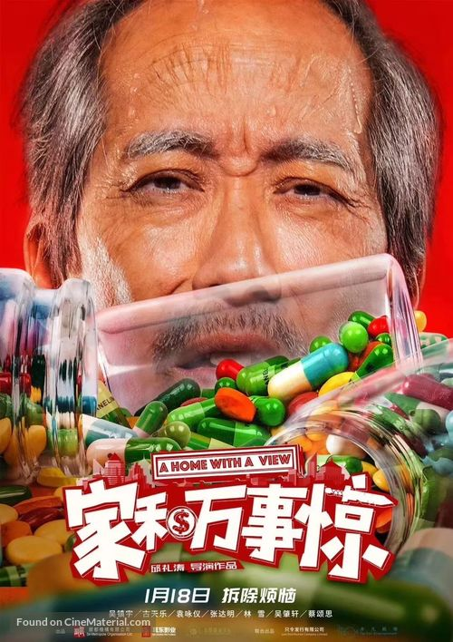 A Home with a View - Chinese Movie Poster