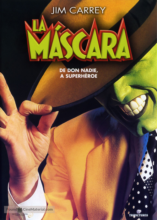 The Mask - Spanish Movie Cover