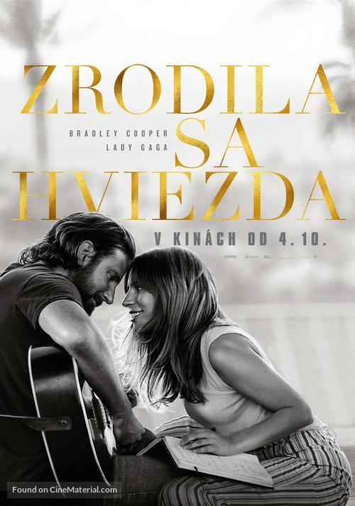 A Star Is Born - Slovak Movie Poster