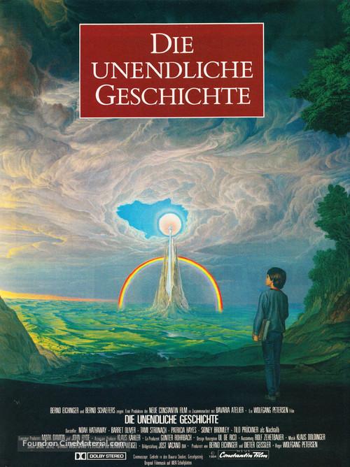 Die unendliche Geschichte - German Movie Poster