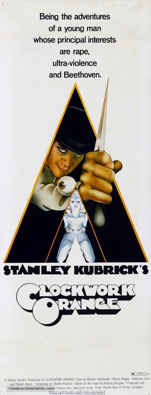 A Clockwork Orange - Re-release movie poster