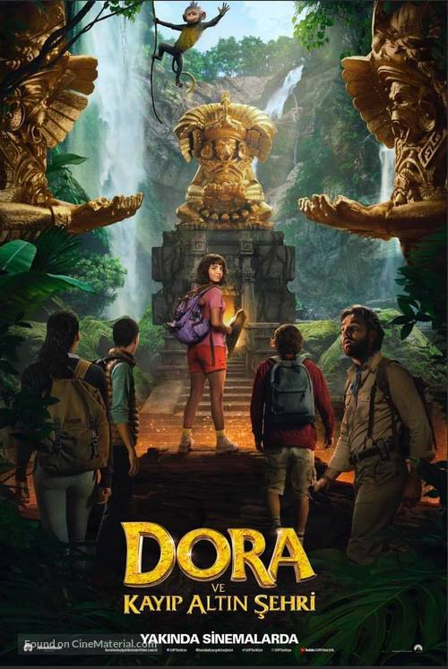 Dora and the Lost City of Gold - Turkish Movie Poster