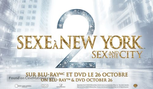 Sex and the City 2 - Canadian Video release poster