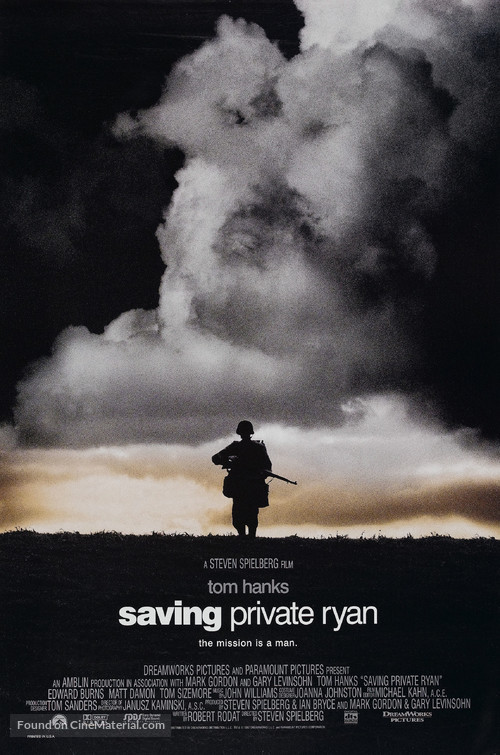 Saving Private Ryan - Movie Poster