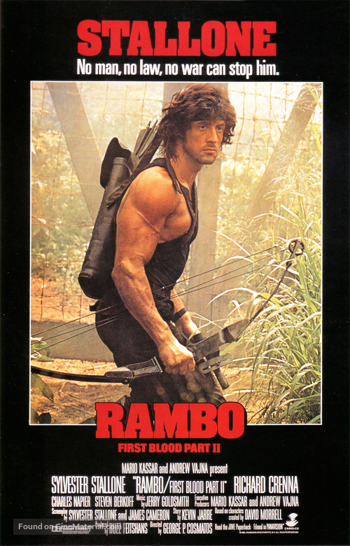 Rambo: First Blood Part II - Movie Poster