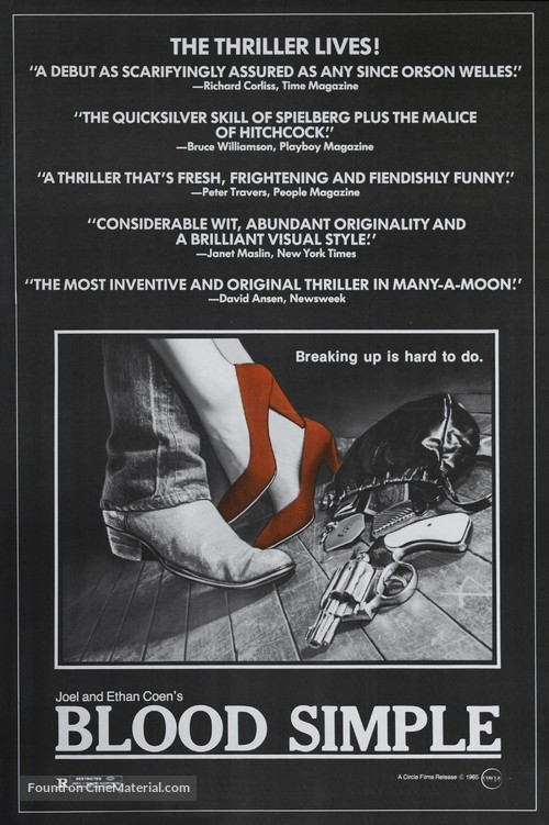 Blood Simple - Movie Poster