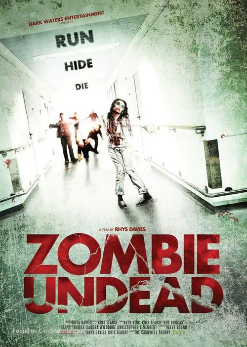 Zombie Undead - British Movie Poster