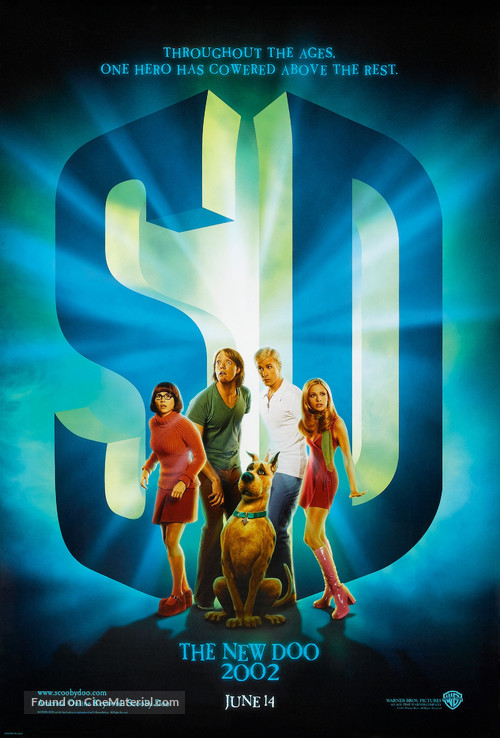 Scooby-Doo - Advance movie poster