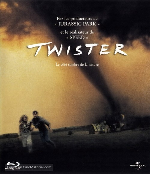 Twister - French Blu-Ray movie cover