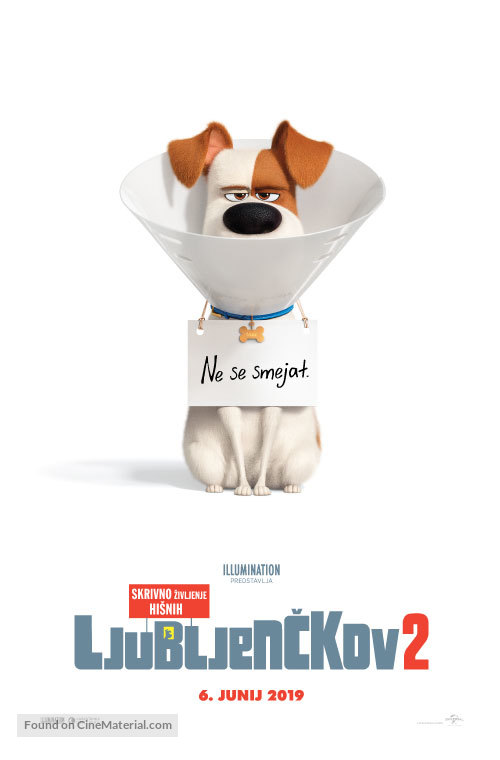 The Secret Life of Pets 2 - Slovenian Movie Poster