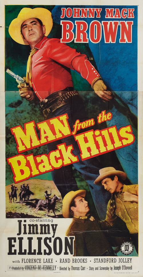 Man from the Black Hills - Movie Poster