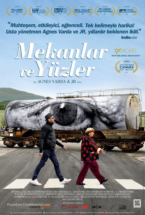 Visages, villages - Turkish Movie Poster
