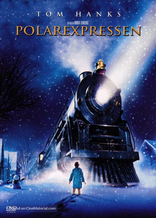 The Polar Express - Swedish DVD movie cover