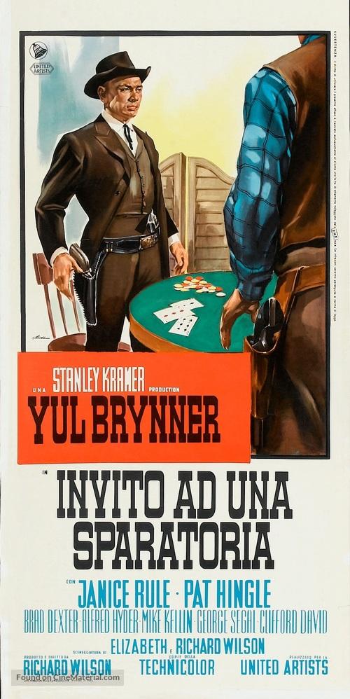 Invitation to a gunfighter italian movie poster invitation to a gunfighter italian movie poster stopboris Image collections
