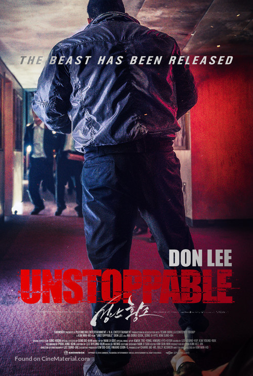 Unstoppable - South Korean Movie Poster