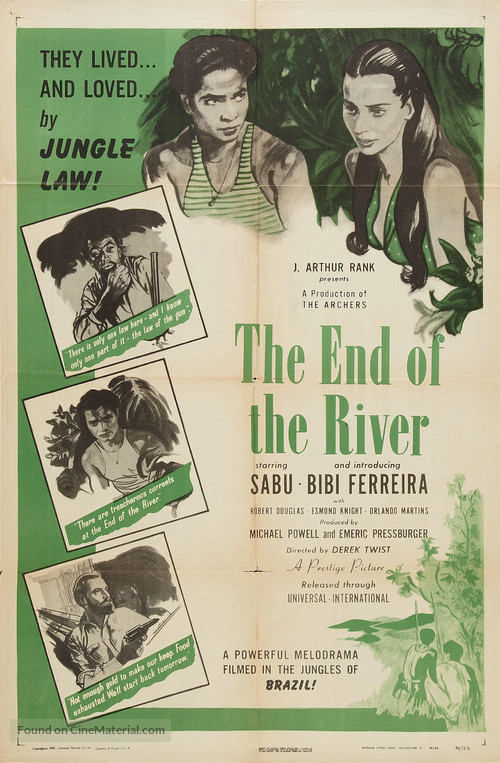 The End of the River - Movie Poster