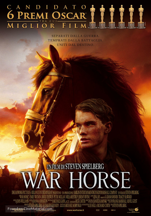 War Horse - Italian Movie Poster