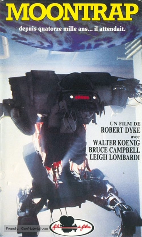 Moontrap - French VHS movie cover