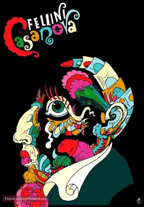 Il Casanova di Federico Fellini - Polish Homage movie poster
