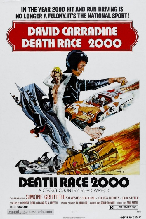 Death Race 2000 - Movie Poster