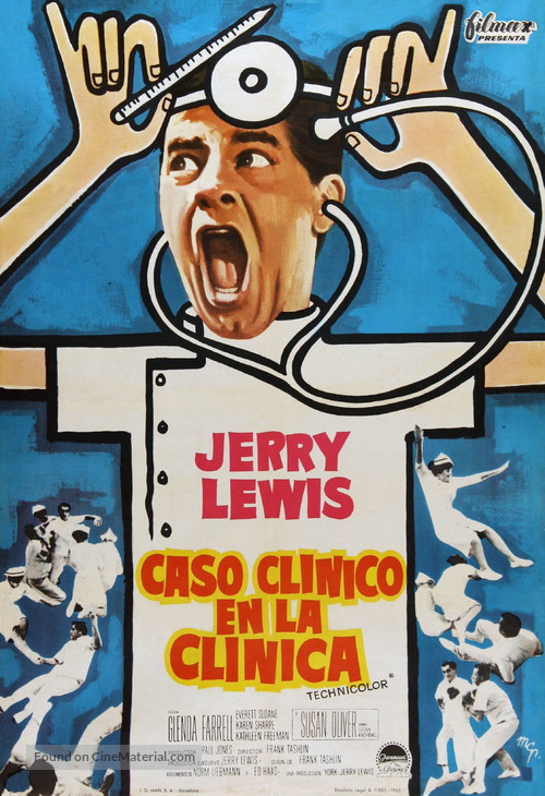 The Disorderly Orderly - Spanish Movie Poster