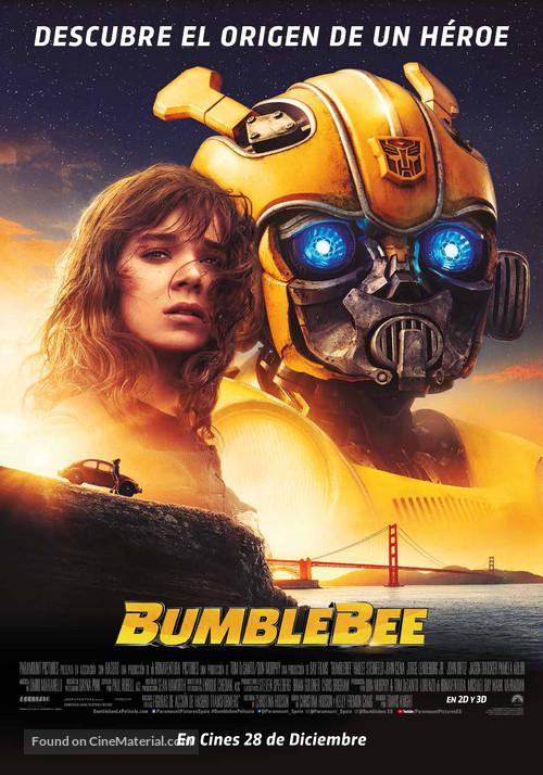 Bumblebee - Spanish Movie Poster