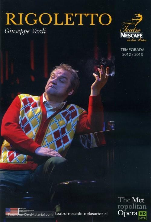 """Metropolitan Opera: Live in HD"" - Chilean Movie Poster"
