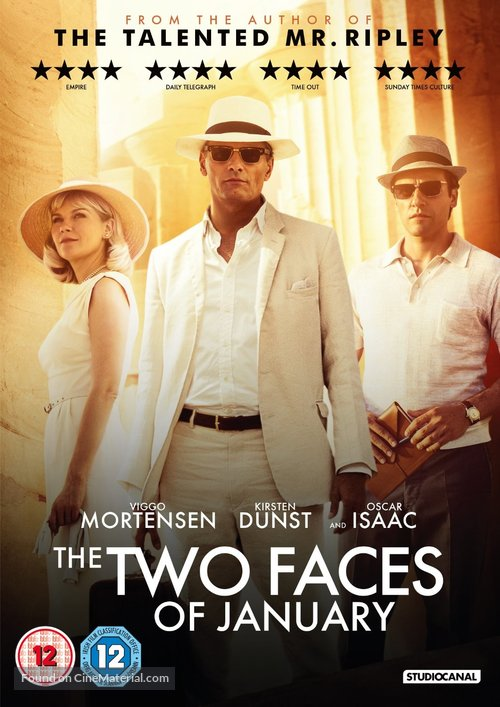 The Two Faces of January - British Movie Cover