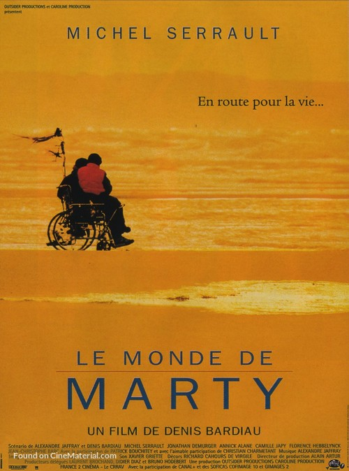 Le monde de Marty - French Movie Poster