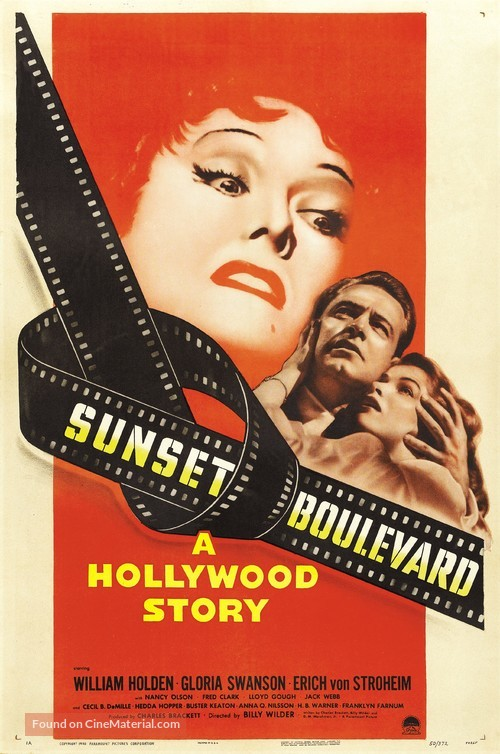 Sunset Blvd. - Movie Poster