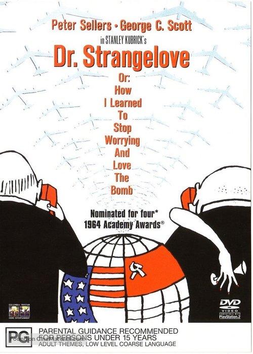 Dr. Strangelove - Australian Movie Cover