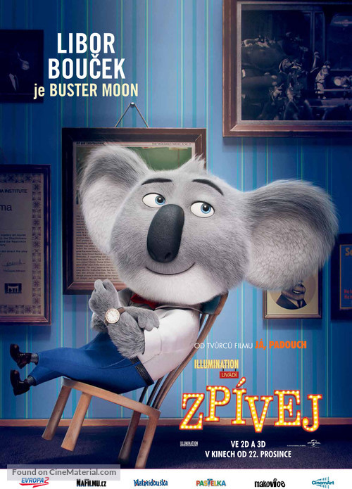 Sing - Czech Movie Poster