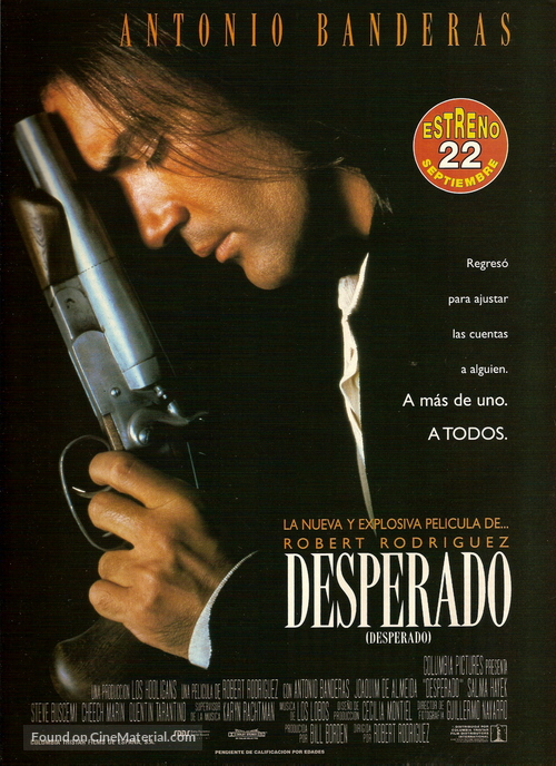 Desperado - Spanish Movie Poster