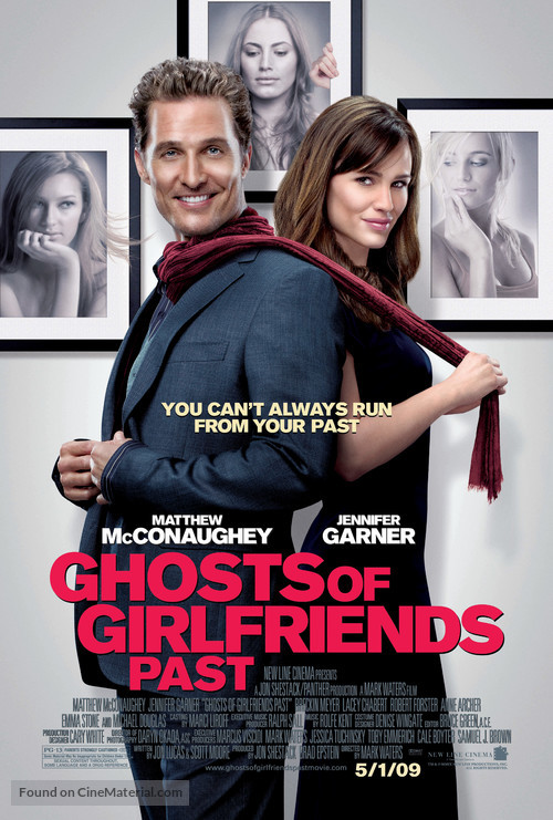 The Ghosts of Girlfriends Past - Movie Poster