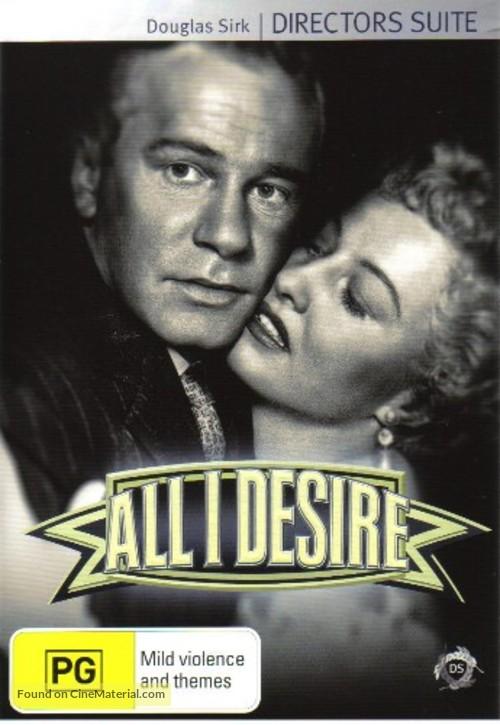 All I Desire - Australian Movie Cover