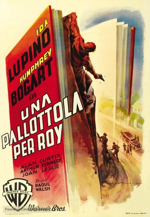 High Sierra - Italian Movie Poster