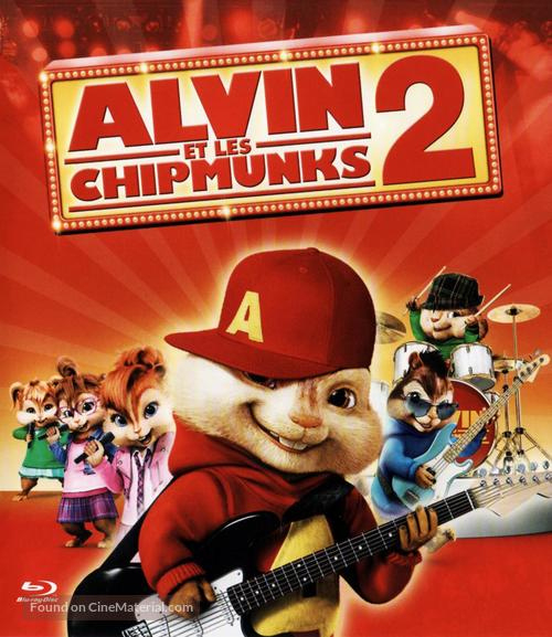 Alvin and the Chipmunks: The Squeakquel - French Movie Cover