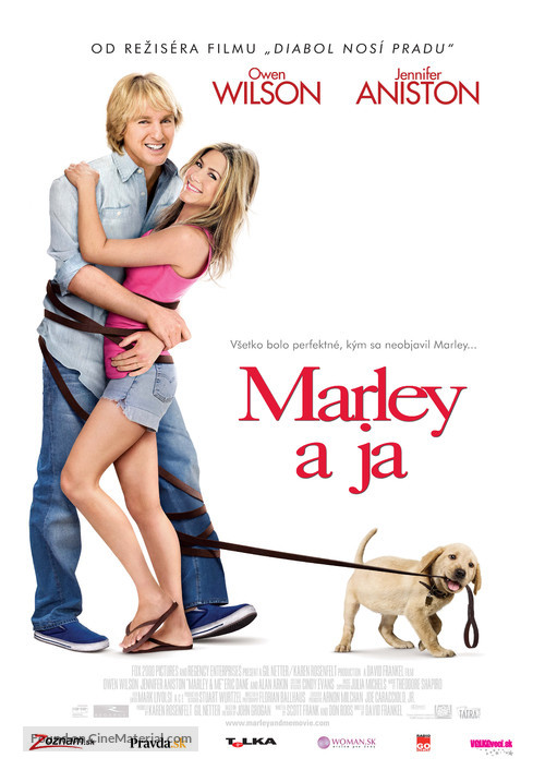 Marley & Me - Slovak Movie Poster