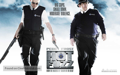 Hot Fuzz - British Movie Poster