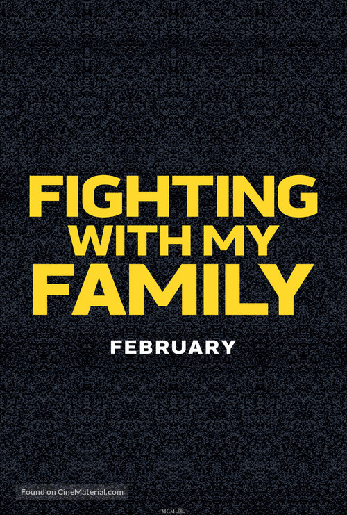 Fighting with My Family - Logo