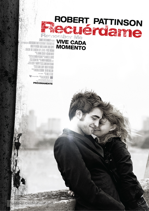 Remember Me - Mexican Movie Poster