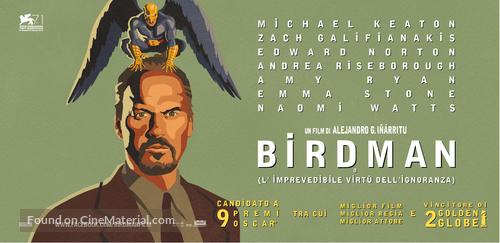 Birdman - Italian Movie Poster